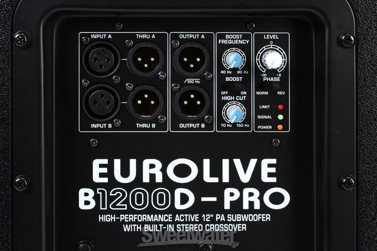 s-l1600 Behringer B1200D Active Subwoofer Steelasophical SteelBand & DJ