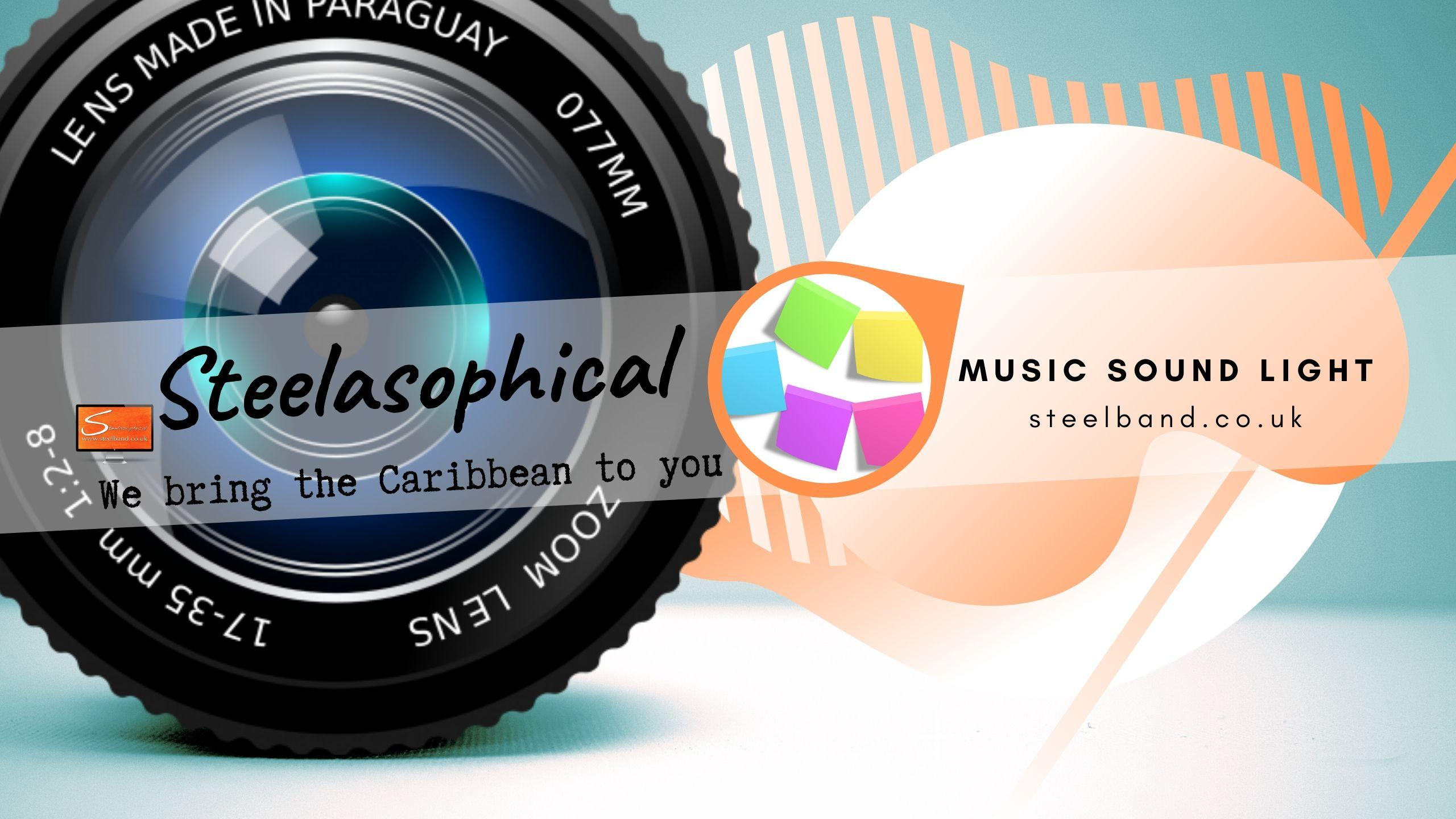 Steelasophical SteelBand for Hire UK steelpans Steeldrums Caribbean Music 0y6y