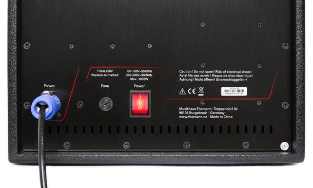 the box Miniray Array PA System steelasophical c