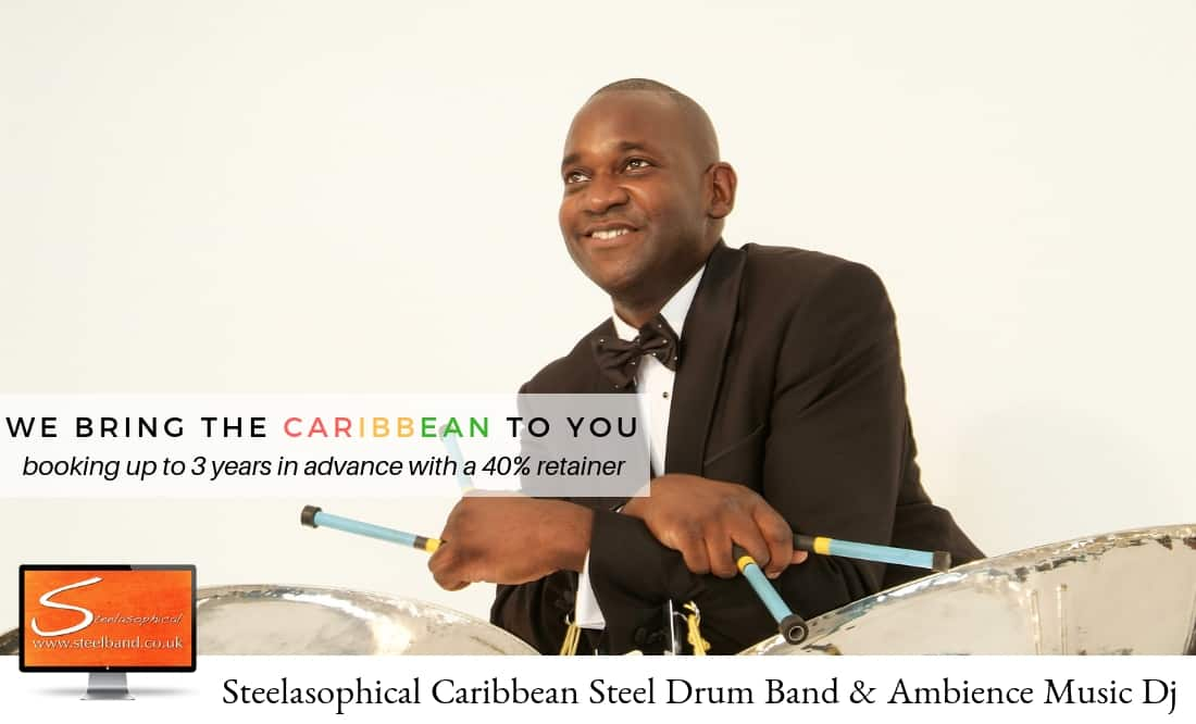 COVID 19 Steelasophical Steel Band Hire james Bond 007