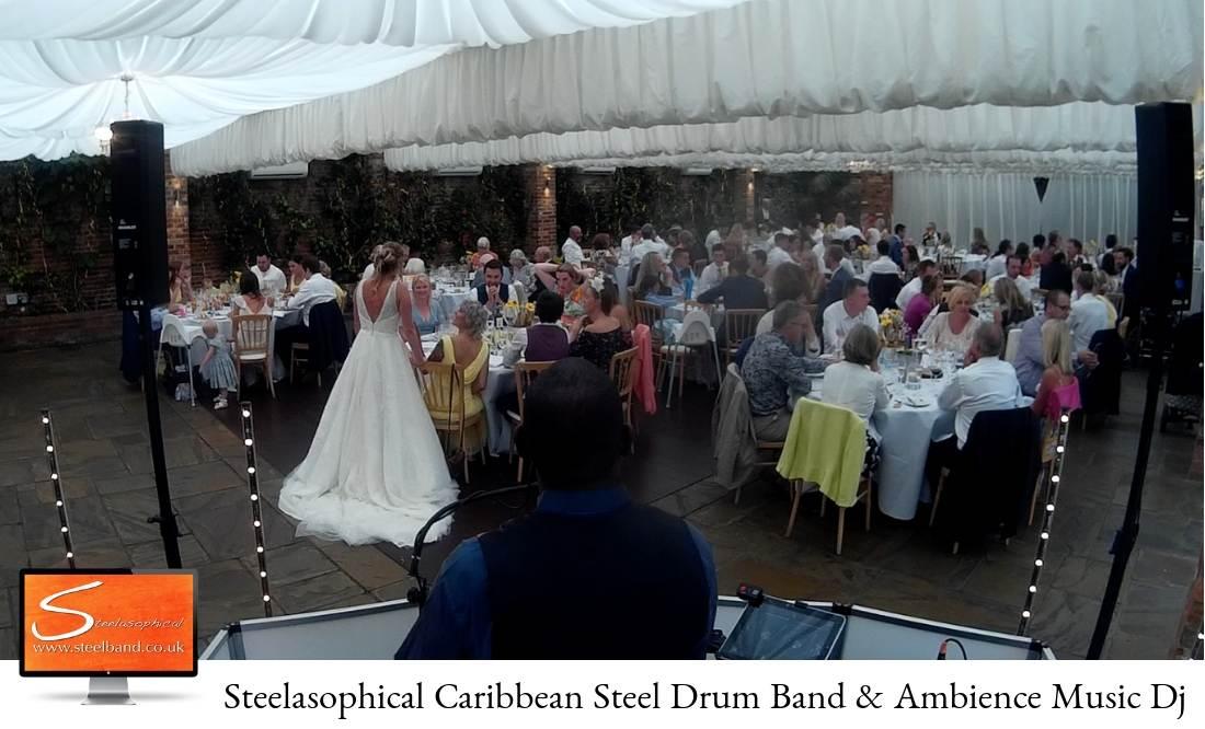 weddings with Steelasophical steel band bride