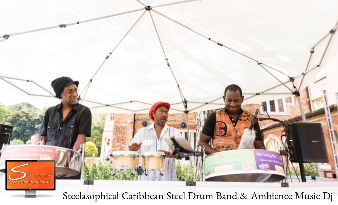 Steelasophical Steel Band Trio Wedding Band DJ