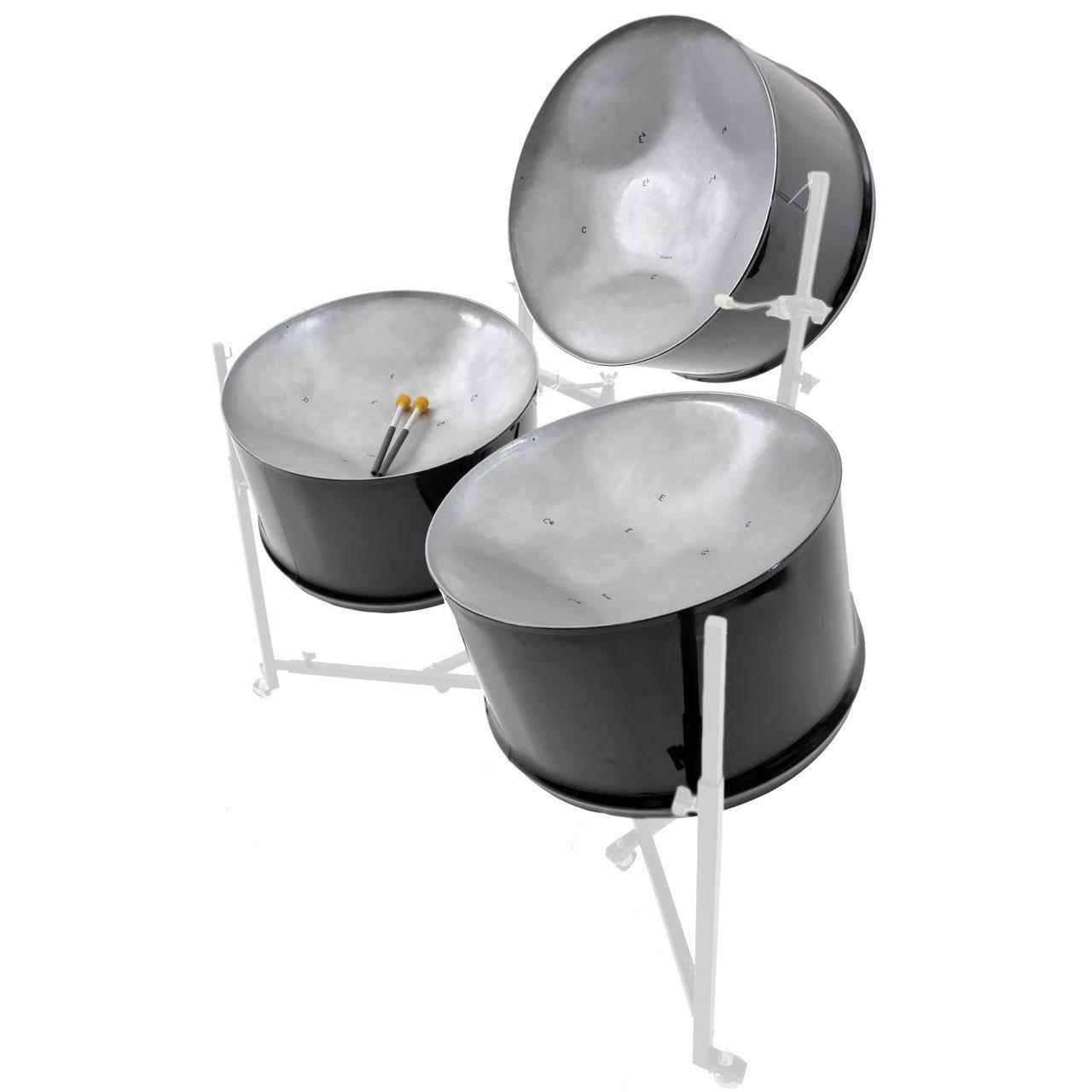 Single-Guitar-Steel Drum Pan Band Steelasophical 0010