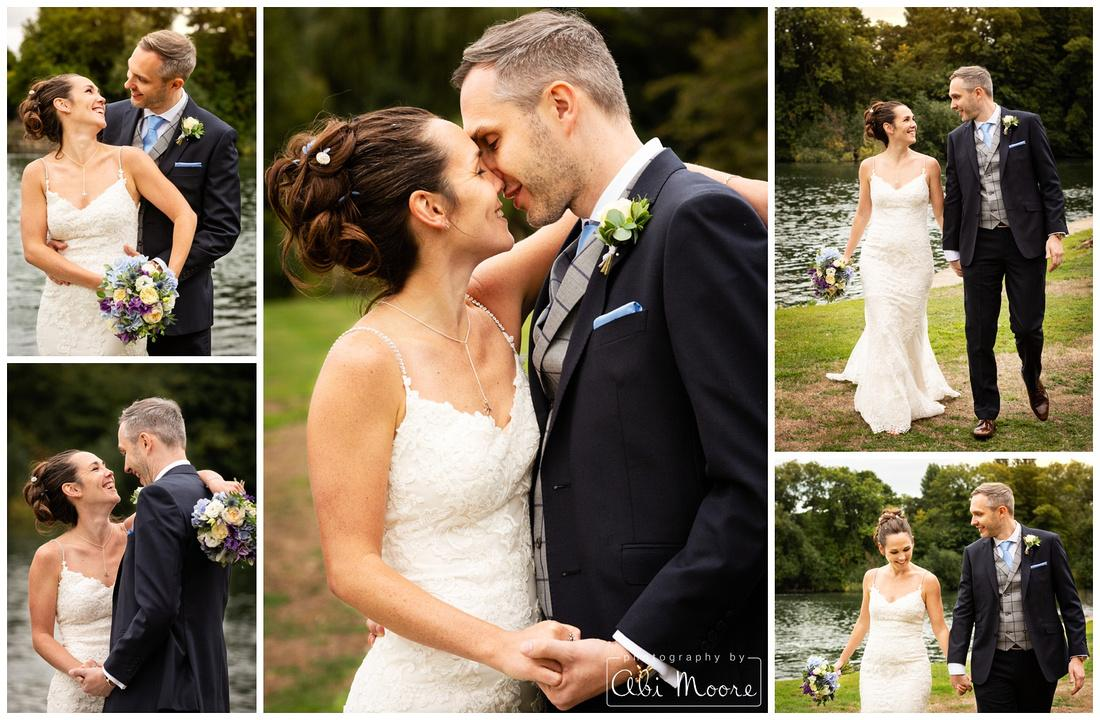 Vicky & Russell's Compleat Angler Marlow wedding
