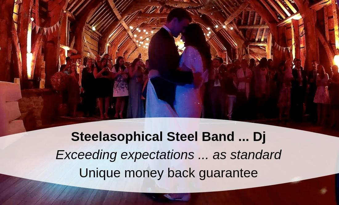Steelasophical Wedding Day Music Provider Steel Band Dj
