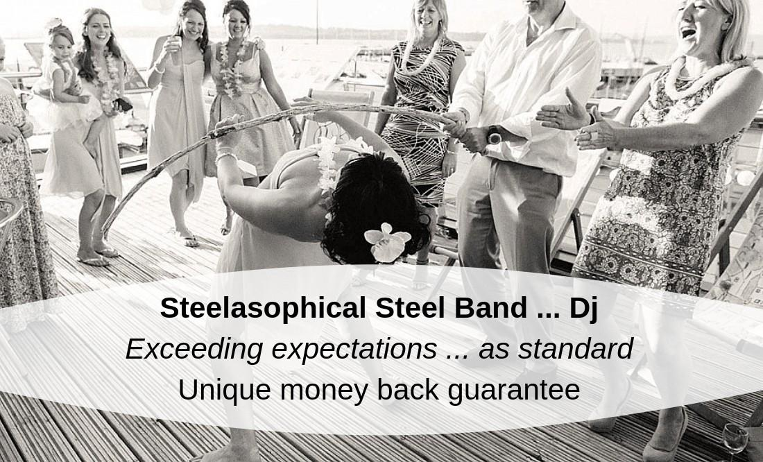 Steelasophical Wedding Steel Band Dj Music wycombe