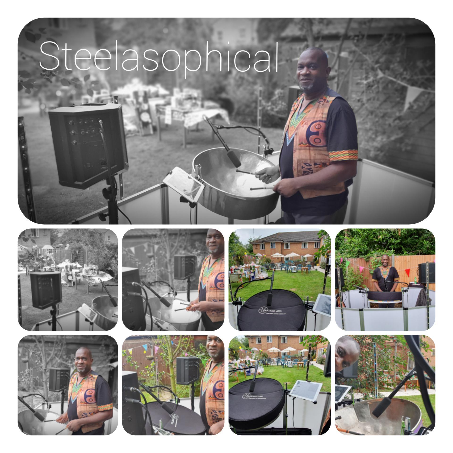 Steelasophical steel band hire uk bbc
