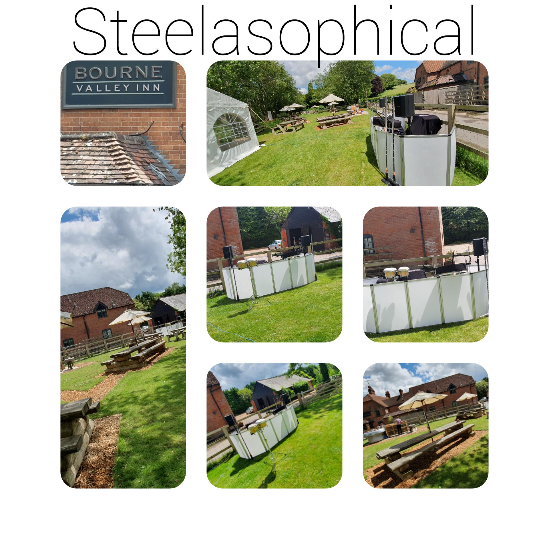 Caribbean steel band dj Steelasophical Bourne Valley Inn