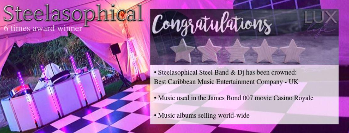 Voted Best Caribbean Music Entertainment Company UK