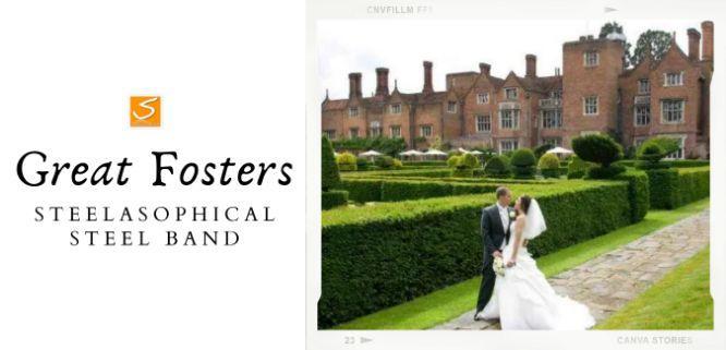 Great Fosters Wedding Venue Steelband 01