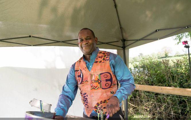 Steelasophical Caribbean Steel Pan Drum Band DJ Gary trotman Casino Royale