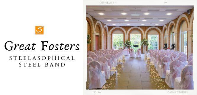 Great Fosters Wedding Venue Steelband 013