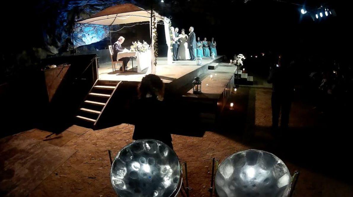 steelasophical wedding steel band DJ Music hire evening dancing wedding-band