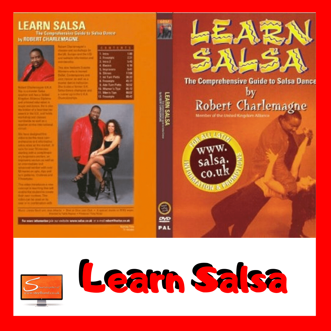 Hire Services LearnSalsa UK with Robert Charlemagne DVD