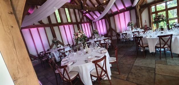 Brookfield Barn Sussex Wedding Venue Steelasophical wedding band steelband 0013