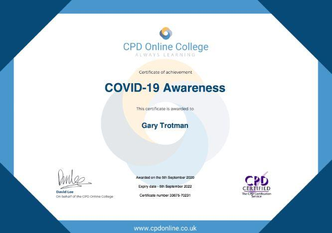 Covid 19 steel band Steelasophical Gary Trotman CPD