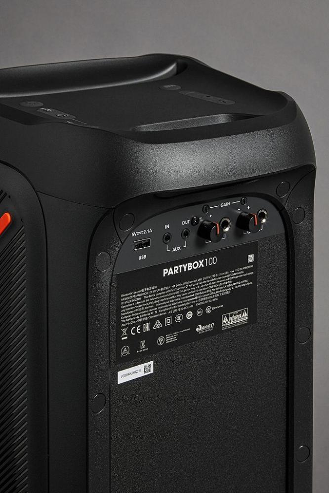 JBL partybox 100 Speaker Steelasophical Steel Band 014