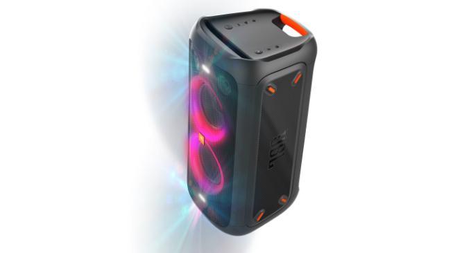 Steelasophical steelband steelpan steeldrums JBL partybox 100 Speaker