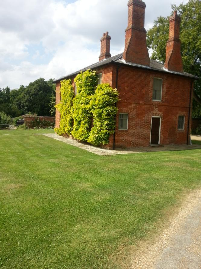 Longstowe Hall House on the grounds