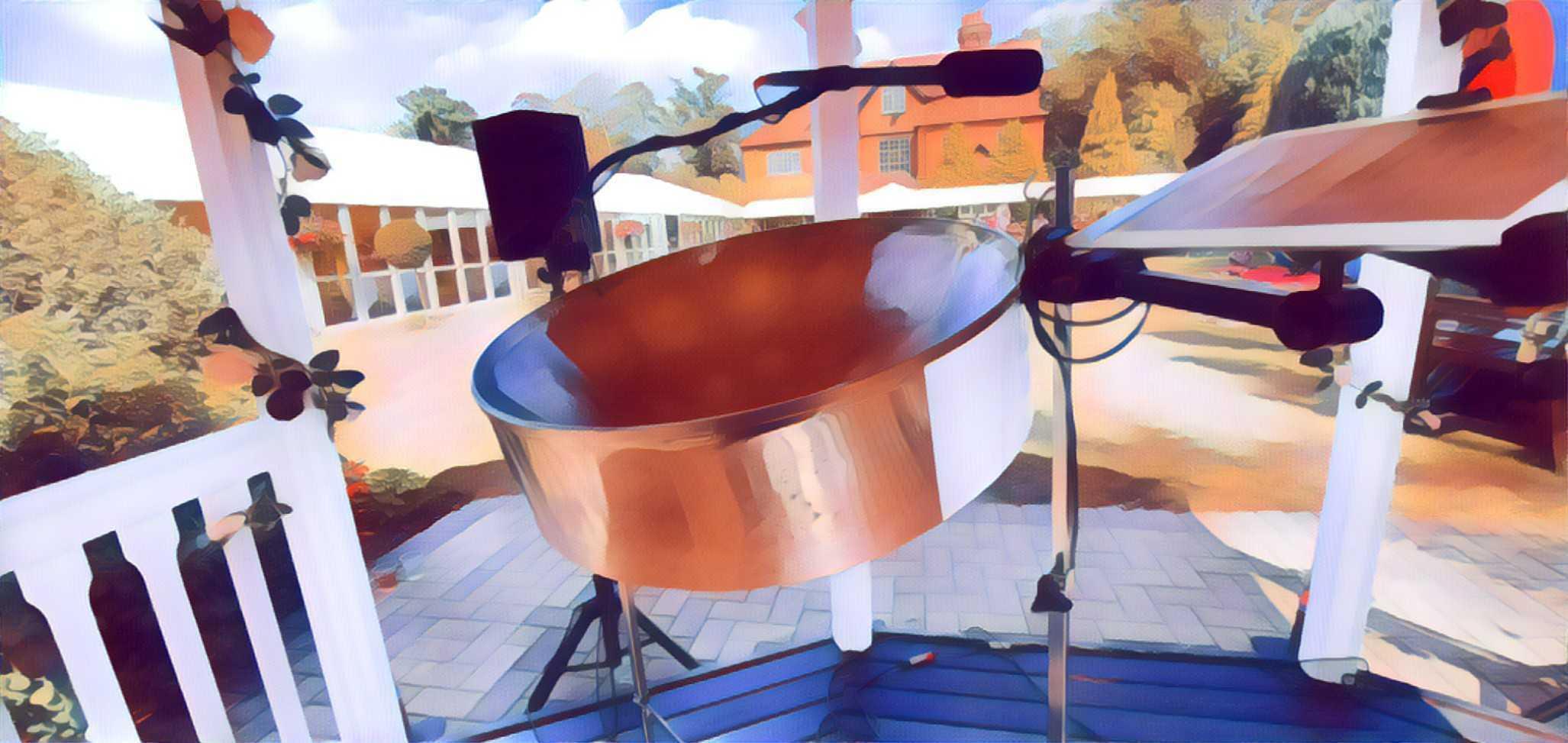 Steelasophical Wedding Steel Pan Band